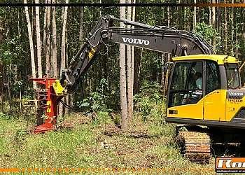 Cabeçote florestal para colheita