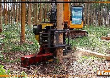 Cabeçote florestal para maquinas