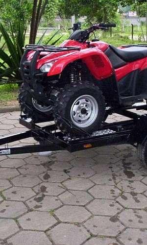 carreta para quadriciclo basculante