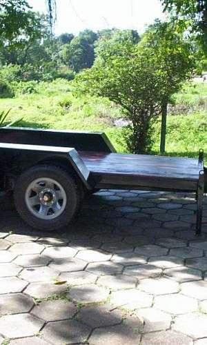 carreta para transporte de gerador
