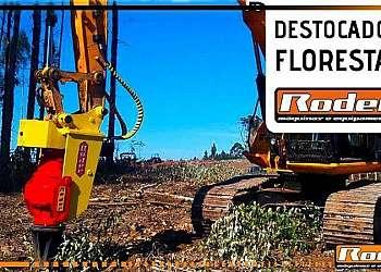 Máquinas florestais destocador