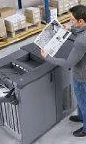 Impressora multifuncional grande porte