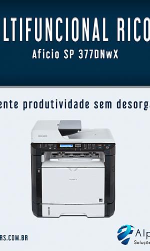 Impressora multifuncional Ricoh
