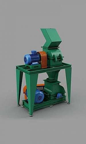 Moinho triturador de barras