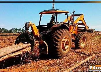 Comprar pinça florestal para maquinas