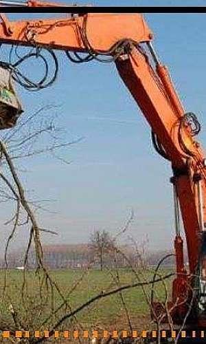 Triturador para escavadeira